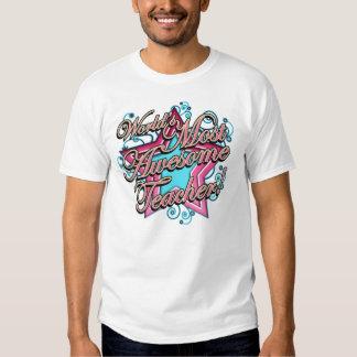 El mejor profesor de los mundos camisetas