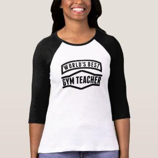 El mejor profesor del gimnasio del mundo camiseta