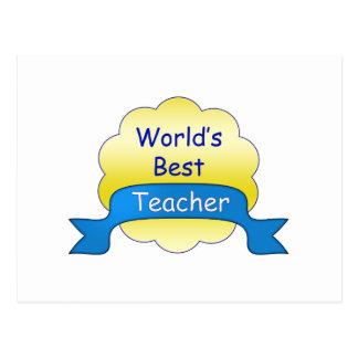 El mejor profesor del mundo postal