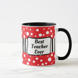El mejor profesor taza de café siempre negra y