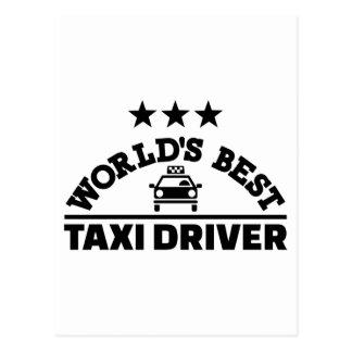 El mejor taxista del mundo postal
