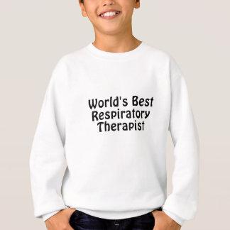 El mejor terapeuta respiratorio de los mundos sudadera