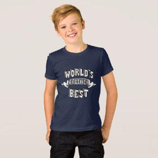 El mejor texto de la tipografía de Brother del Camiseta