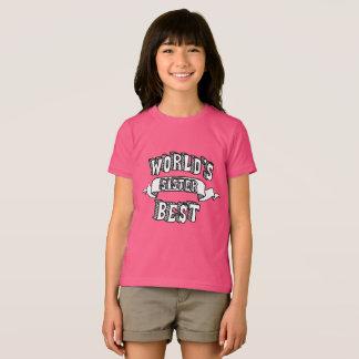 El mejor texto de la tipografía de la hermana del camiseta