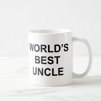 El mejor tío del mundo taza de café