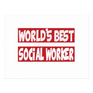El mejor trabajador social del mundo postal