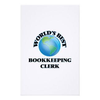 El mejor vendedor de la contabilidad del mundo papelería personalizada
