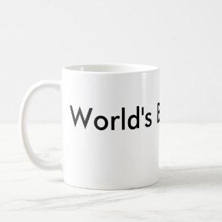 El mejor vendedor del mundo taza de café