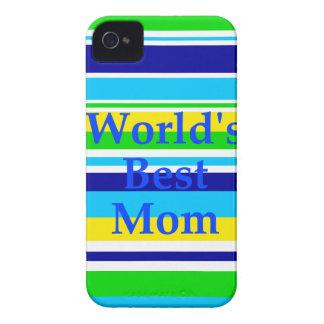 El mejor verano de la mamá de los mundos raya Case-Mate iPhone 4 fundas