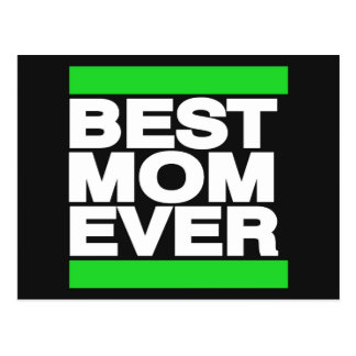 El mejor verde de la mamá nunca postal