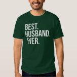 El mejor verde del marido nunca camisetas