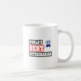 El mejor veterinario del mundo taza de café