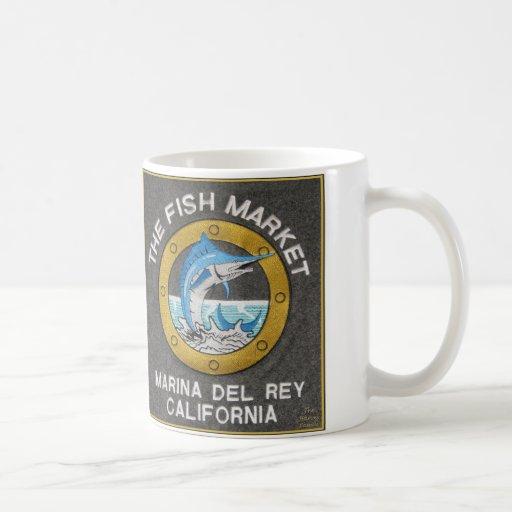 El mercado de pescados x dos - Marina Del Rey Cali Taza