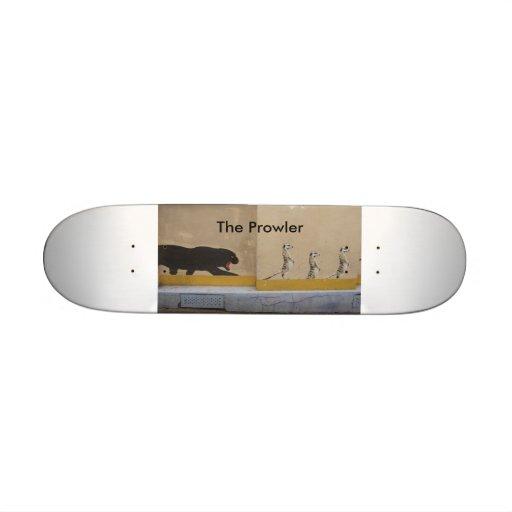 El merodeador tabla de patinar
