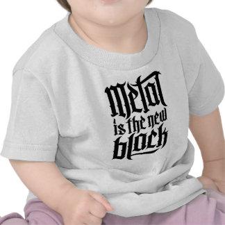 El metal es el nuevo negro No 2 el negro Camiseta
