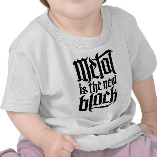 El metal es el nuevo negro No.2 (el negro) Camiseta