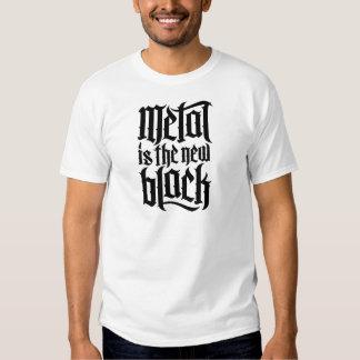 El metal es el nuevo negro No.2 (el negro) Camisetas