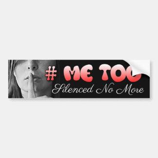 El #MeToo I no será pegatina para el parachoques