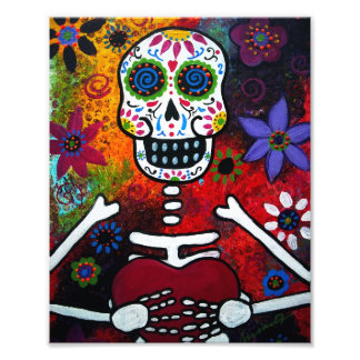 El mexicano Corazon hace frente al día de la pintu Arte Con Fotos
