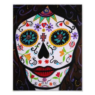 El mexicano Muerto hace frente al día de la pintur Impresiones Fotograficas