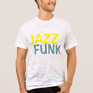 El miedo del jazz se descoloró camiseta
