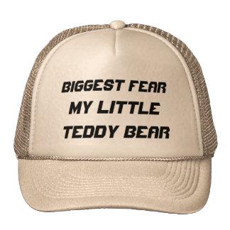El miedo más grande:  Mi pequeño oso de peluche Gorras