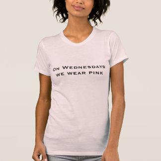 El miércoles llevamos la camiseta rosada