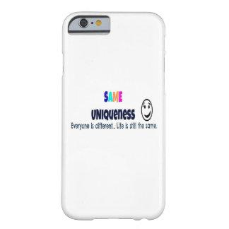 El mismo caso del iPhone 6 de la unicidad Funda Para iPhone 6 Barely There