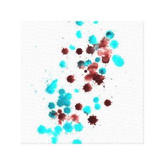 El modelar abstracto lienzo