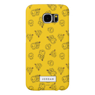 El modelo amarillo el | añade su nombre funda samsung galaxy s6