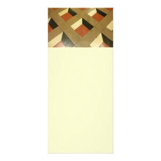 El modelo de la ilusión óptica del piso teja el ph lonas