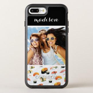 El modelo japonés el   del sushi de la comida el   funda OtterBox symmetry para iPhone 7 plus