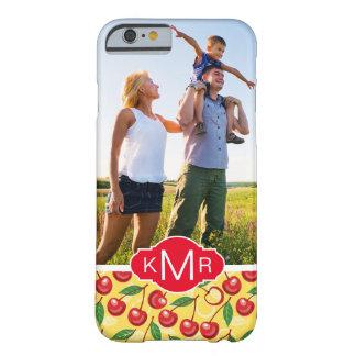El modelo lindo el   de la cereza añade su foto funda barely there iPhone 6