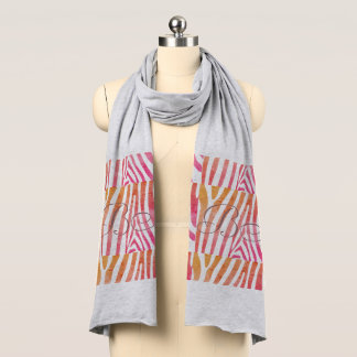 El modelo salvaje del otoño de la colección de la bufanda