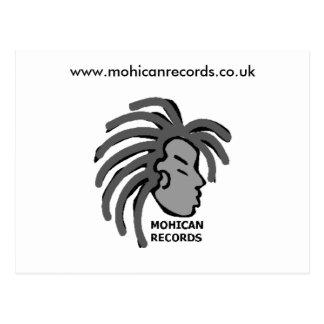 El Mohican registra las postales