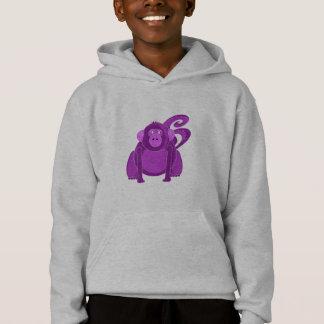 El mono embroma la camiseta