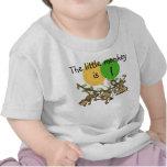 El mono poco Swinge la camiseta adaptable del cump