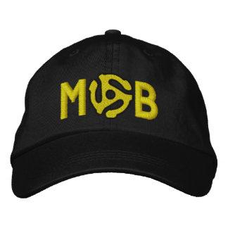 El monograma personaliza 45 que el espaciador DJ b Gorra De Beisbol Bordada