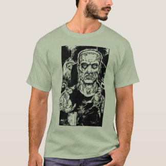 El monstruo escapa la camiseta
