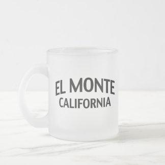 EL Monte California Taza Cristal Mate
