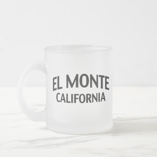 EL Monte California Taza