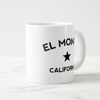 EL Monte California Tazas Jumbo