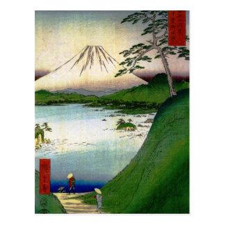 El monte Fuji en Japón circa 1800's Postal