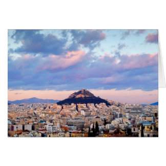 El monte Licabeto Tarjeta