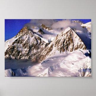 El monte McKinley Póster
