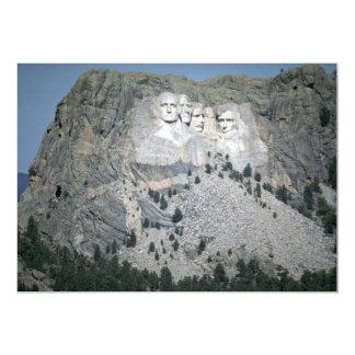 El monte Rushmore, Black Hills, Dakota del Sur, Invitación 12,7 X 17,8 Cm