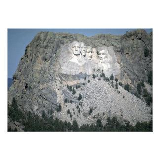 El monte Rushmore Black Hills Dakota del Sur lo Anuncio