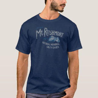 El monte Rushmore Memorial Park nacional los Camiseta