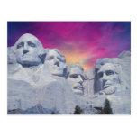 El monte Rushmore, presidentes de Dakota del Sur,  Postales