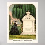 El monumento del soldado en 1863 impresiones